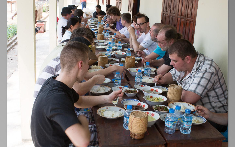 Le repas laotien